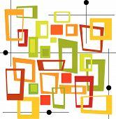 Retro Colorful Squares
