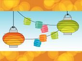 Retro Paper Lanterns