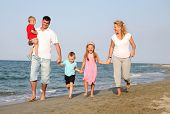 image of family fun  - family at the summer holiday - JPG