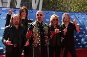 LOS ANGELES - MAY 25:  Judas Priest arriving at the 2011 American Idol Finale at Nokia Theater at LA Live on May 25, 2010 in Los Angeles, CA.