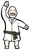 judo expert cartoon