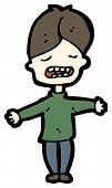 moaning boy cartoon