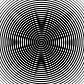 Psychedelic Spiral With Radial Rays, Twirl, Twisted Comic Effect, Vortex Backgrounds. Hypnotic Spira poster