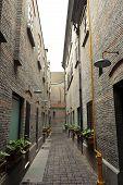 Narrow Alleyway
