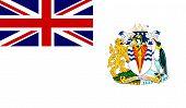 Bandera del territorio Antártico Británico