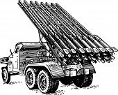 picture of bm-13  - Reactive artillery BM - JPG