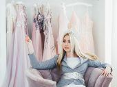 Luxury Fashion Boutique. Designer Prom Dresses. Elegant Evening Gowns. Female Personal Stylist Waiti poster