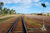 Punto del ferrocarril