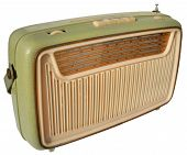 Green Retro Radio