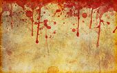 Blood Splattered Old Stained Parchment