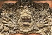Hundreds Years Old Carving