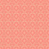 Seamless Pink Damask Background