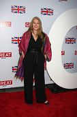 LOS ANGELES - FEB 24:  Geraldine James arrives at the GREAT British Film Reception at the British Co