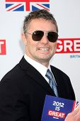LOS ANGELES - FEB 24:  David O'Hara arrives at the GREAT British Film Reception at the British Consu