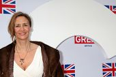 LOS ANGELES - FEB 24:  Janet McTeer arrives at the GREAT British Film Reception at the British Consu