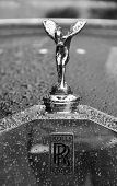 LONDON - SEPTEMBER 04: The Spirit of Ecstasy, mascot of Rolls-Royce at Chelsea AutoLegends, on Septe