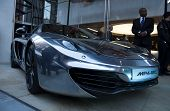 LONDON, UK - JUNE 21: The McLaren MP4-12C at the official opening of the McLaren showroom on Knights
