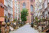 Calle Mariacka en Gdansk