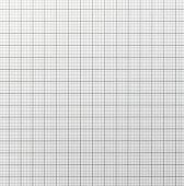 Graph paper with quartered sub sections. Light grey line.