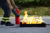 Feuer-training