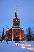 Finland . Jyvaskyla Cathedral