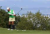 Ai Miyazato (JPN) na Copa de golfe Evian Masters 2011
