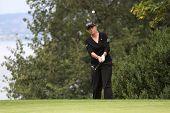 Christie Kerr (EUA) na Copa de golfe Evian Masters 2011
