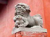 Günstige chinesische steinerne Löwen
