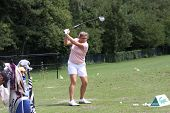 Virginie Lagoutte (FRA) at Evian Masters golf cup 2011