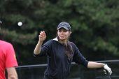 Sharmila Nicollett  (IND) at The Evian Masters golf tournament 2011