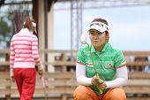 Yoon Seul a  (KOR) at The Evian Masters golf tournament 2011