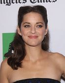 LOS ANGELES - OCT 22:  Marion Cotillard arrives to Hollywood Film Awards Gala 2012  on October 22, 2012 in Beverly Hills, CA