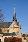 Church Saint Leonard at Alen�on in France