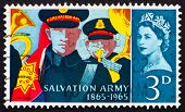 Postage stamp GB 1965 Salvation Army Band