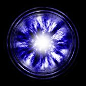Blue Wormhole