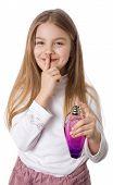 Geheimnis von einem kleinen Mädchen