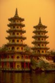 De Dragon en Tiger pagodes