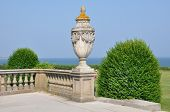 The Breakers Mansion Grounds in Newport, Rhode Island