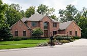 pic of manicured lawn  - Luxurious Brick Home - JPG