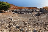 Theater Of Ancient Thira