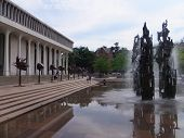 Fountain of Freedom at Woodrow Wilson School of Public & International Affairs in Princeton