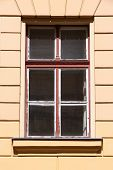 Old Window In Hungary