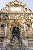 Saint Michael Fountain , Paris, France