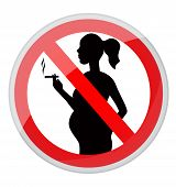 Pregnant women and cigarette