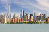 Manhattan In A Cloudy Summer Day