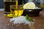 Sea Salt Coriander Olive Oil And Lime