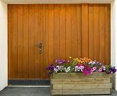 Wooden Door Of House