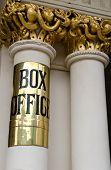 Theatre box office sigh