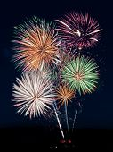 pic of projectile  - Fireworks Show  - JPG