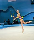Kiev - Aug 29: 32Nd Rhythmic Gymnastics World Championships On August 29, 2013 In Kiev, Ukraine.